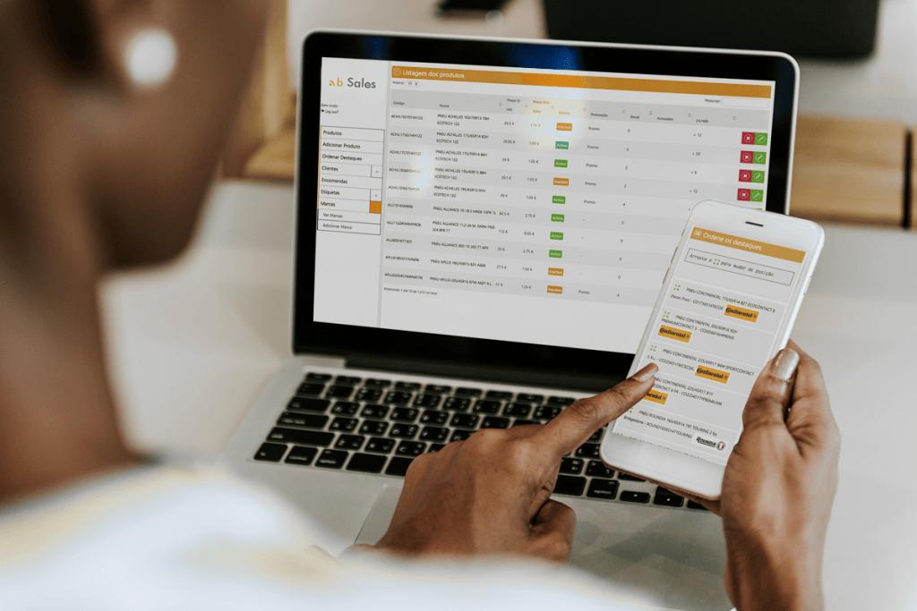 bSales - software personalizado de revenda by Buzina