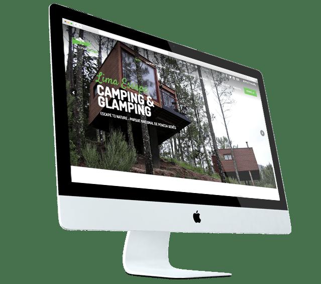 Portefólio Website Lima Escape by Buzina - desktop