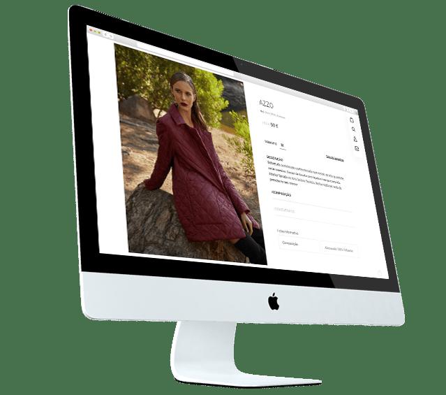 Portefólio Loja Online Nizza by Buzina - desktop