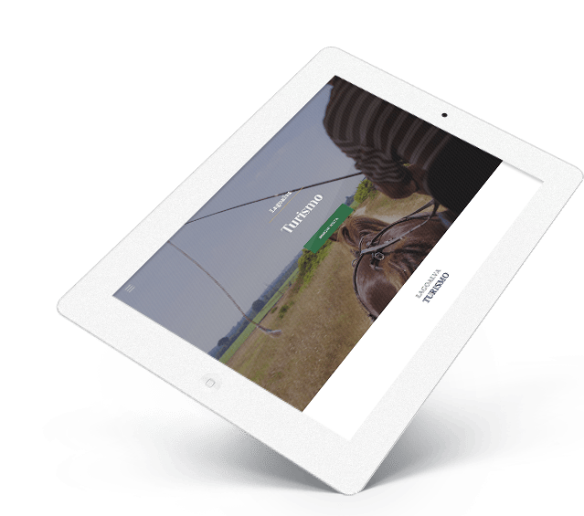 Portefólio Website Gupo Lagoalva by Buzina - ipad tablet