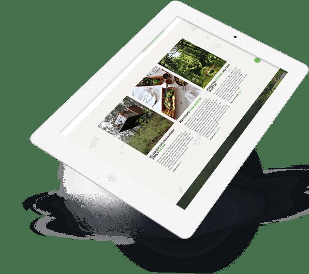 Portefólio Website Lima Escape by Buzina - ipad tablet