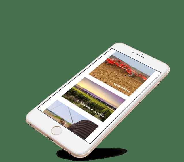 Portefólio Website Gupo Lagoalva by Buzina - iphone smartphone