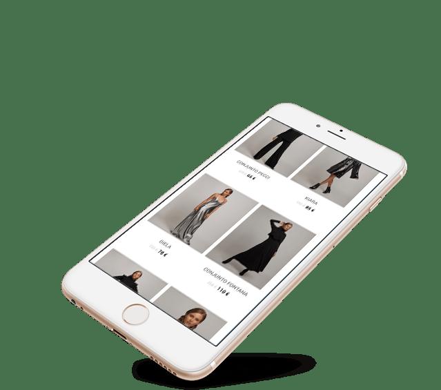 Portefolio Loja Online Nizza by Buzina - smartphone iphone responsivo