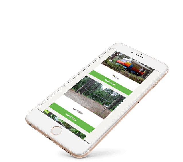 Portefólio Website Lima Escape by Buzina - smartphone iphone