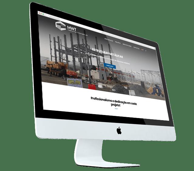 Portefólio Website MWT by Buzina - desktop