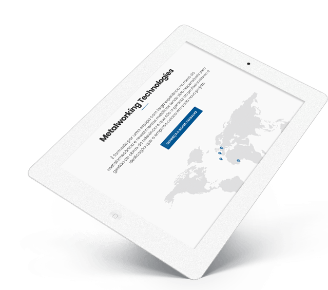 Portefólio Website MWT by Buzina - ipad tablet