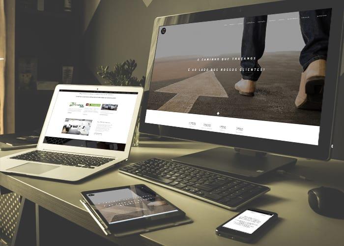 Portefólio Website XZ Consultores by Buzina