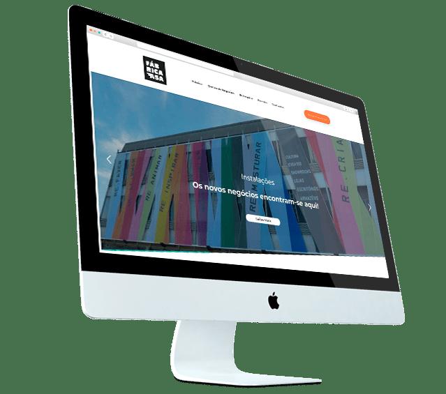 Portefólio Website Fábrica Asa by Buzina - Desktop
