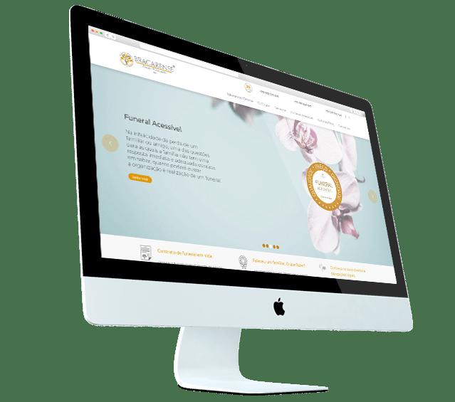 Portefólio Bracarense – Grupo Funerário - Buzina Negócios Digitais - Criação de Websites - Desktop