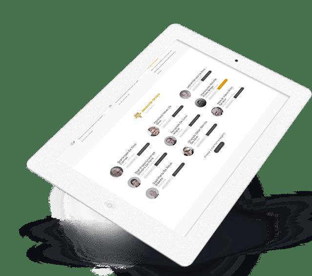 Portefólio Bracarense – Grupo Funerário - Buzina Negócios Digitais - Criação de Websites - Ipad